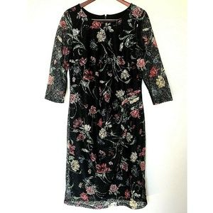 Dresses & Skirts - Long Tall Sally Floral Printed Lace Dress